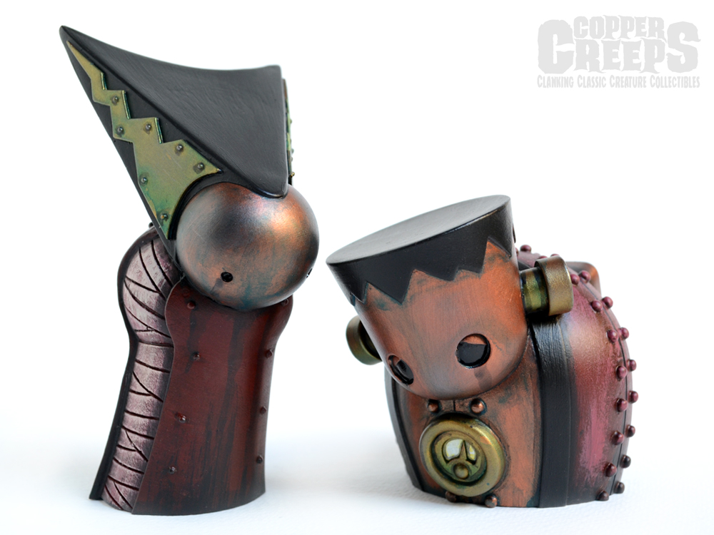 Copper Creeps: Clanking Classic Creature Collectibles by Doktor A